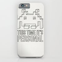 iPhone & iPod Case featuring Space Invader by illustrious state