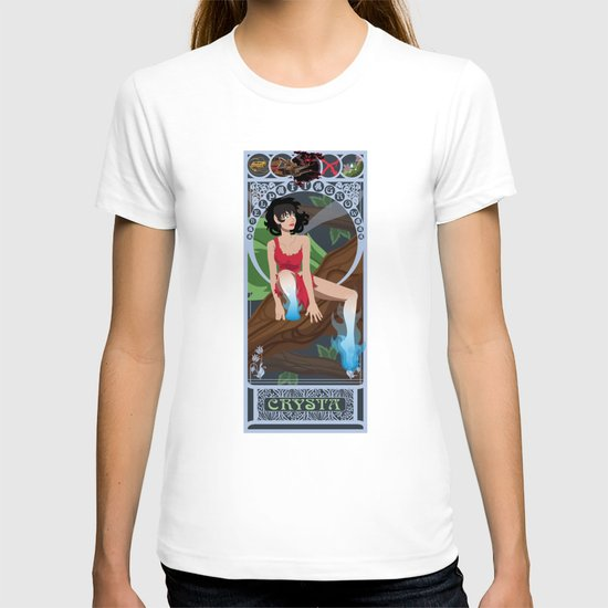 Crysta Nouveau - Fern Gully T-shirt