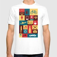Tools For Life Mens Fitted Tee White SMALL