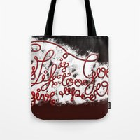 This Life - Red Version Tote Bag