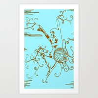Tiny Dancer [Locust] Art Print