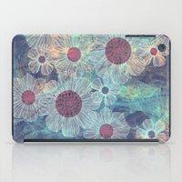 Blue Flowers iPad Case