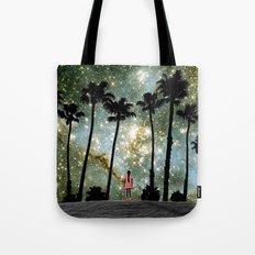 Paradise Galaxy Dream Tote Bag