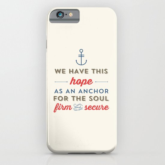 ANCHOR FOR THE SOUL iPhone & iPod Case