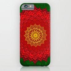 okshirahm rose mandala iPhone 6s Slim Case