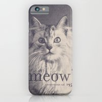 iPhone & iPod Case featuring Famous Quotes #2 (anonymous cat, 1952) by Speakerine / Florent Bodart