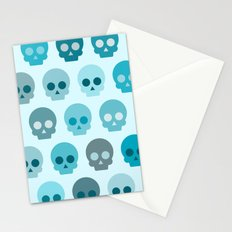 Colorful Skull Cute Pattern II Stationery Cards