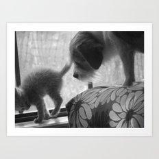 eb&daisy Art Print