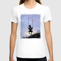 Spider Kid Womens Fitted Tee White SMALL
