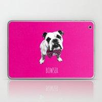 Pink Bowser Laptop & iPad Skin