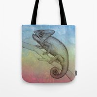 Chameleon (3) Tote Bag