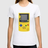 GAMEBOY Color - Pokemon … Womens Fitted Tee Ash Grey SMALL