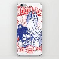 the herculoids iPhone & iPod Skin