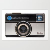 Instamatic Camera Art Print