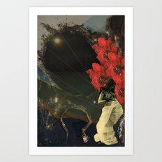 Stars and Tides Art Print