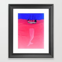 Sunk Framed Art Print