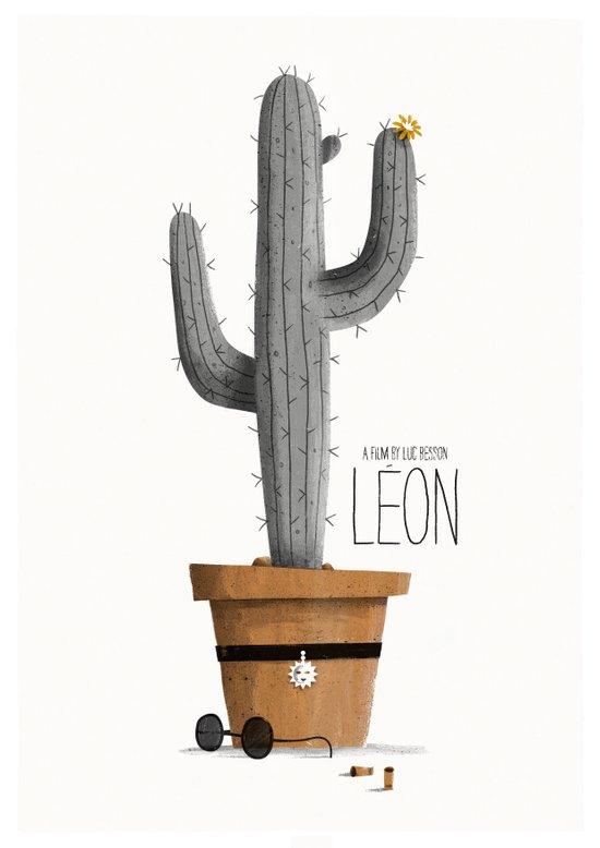Léon Art Print