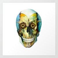 SKULL#02 Art Print