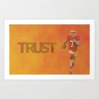 Run Kaep Art Print
