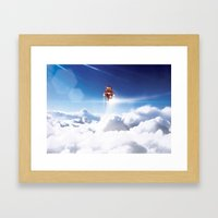 Super Bears - ACTION! the Invincible One Framed Art Print