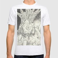 Litho Mecha Mens Fitted Tee Ash Grey SMALL