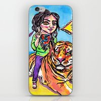 Charmed Tiger iPhone & iPod Skin