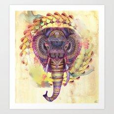 Synergies Art Print