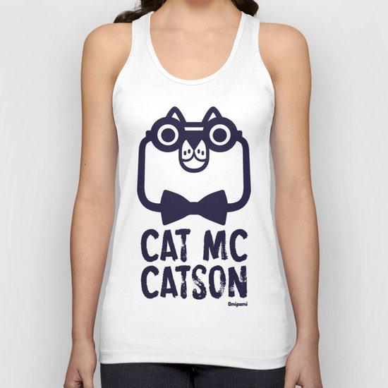 Cat Mc Catson Unisex Tank Top