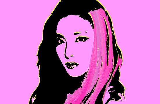 Sandara Park (Dara - 2NE1) Art Print