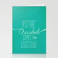 You Are Cherished Stationery Cards
