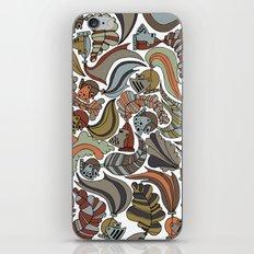 knights iPhone & iPod Skin