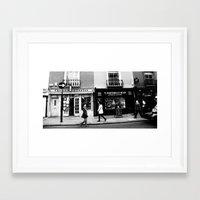 Never Again Framed Art Print