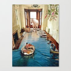 Is There A Prize at the End of All This Canvas Print