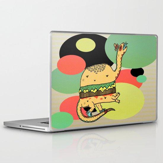 Snack-O-Saurus Laptop & iPad Skin