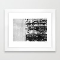 Black And White Abstract… Framed Art Print