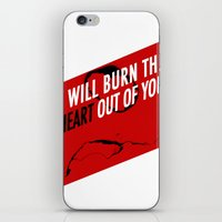 SHERLOCK Moriarty Print iPhone & iPod Skin