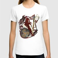 The Great Queen Womens Fitted Tee White SMALL