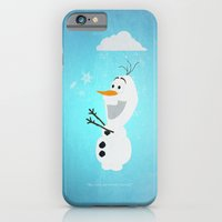 iPhone & iPod Case featuring Olaf (Frozen) by Robert Woods