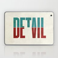 Laptop & iPad Skin featuring Devil In The Detail. by David