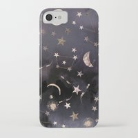 photography iPhone & iPod Cases featuring Constellations  by Nikkistrange