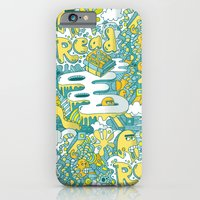 READ BOOKS LITTLE MONSTERS iPhone 6 Slim Case