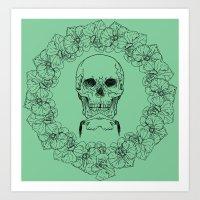 OrchidCircle Art Print