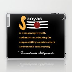 What is Sanyas? Laptop & iPad Skin