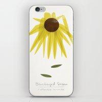 Blackeyed Susan Modern B… iPhone & iPod Skin
