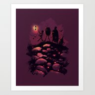 No Friends Left Behind Art Print
