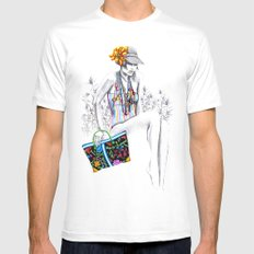 Tropic relief Mens Fitted Tee White SMALL