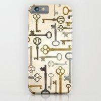 Vintage Keys iPhone 6 Slim Case