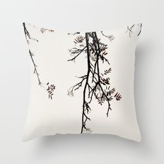 Delicate like snow Throw Pillow