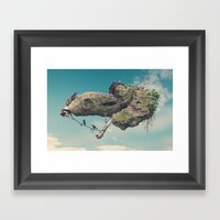 Zooo Framed Art Print