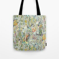 hairspray jungle Tote Bag